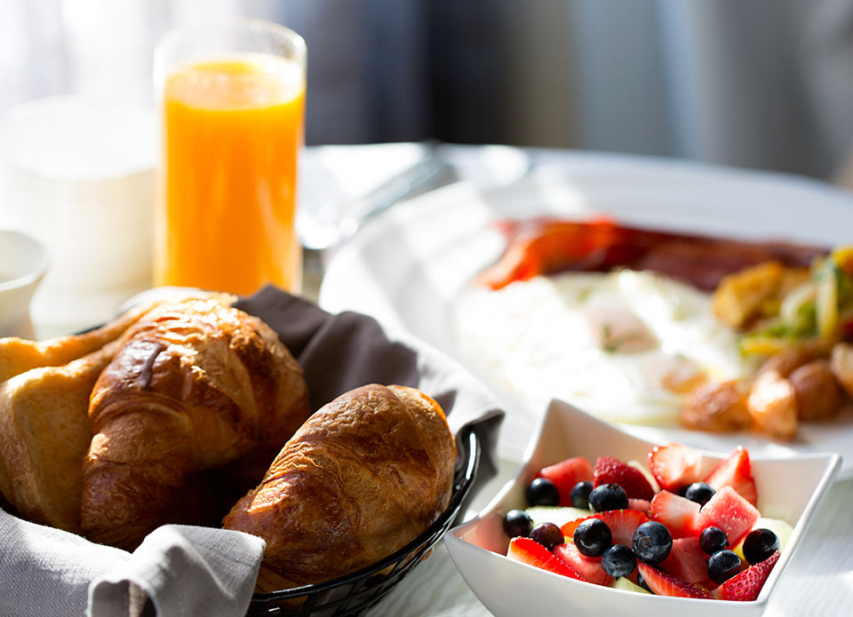 hotel-motel-chute-des-peres-petit-dejeuner